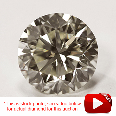 (See Video Inside)<B>GIA - </B>EXCLUSIVE CLOSEOUT DEAL! 3/4 CARAT GENUINE DIAMOND LOOSE (FINAL BATCH)(THIS PHOTO IS USED AS A STOCK PHOTO)