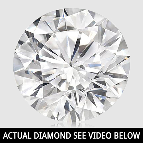 (See Video Inside)<B>DEA - </B> SUBSTANTIAL 1.01 CARAT TW (1 PCS) WHITE DIAMOND G-H DIAMOND (THIS PHOTO IS USED AS A STOCK PHOTO)