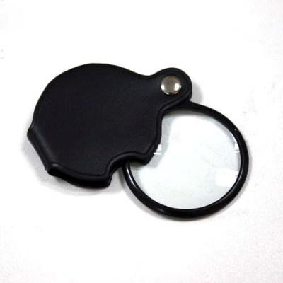 10X Mini Pocket Eye Glass Loupe Jewelry Magnifying Magnifier Black eg23