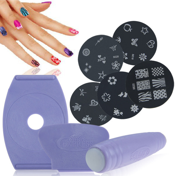 Jewelryroom Mesmerizing Nail Art Stamping Kit Diy Design