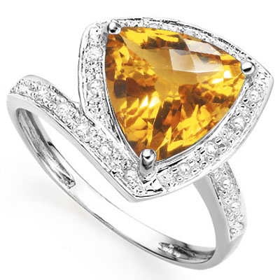 SMASHING 1.35 CARAT AZOTIC GEMSTONE WITH DOUBLE GENUINE DIAMONDS PLATINUM OVER 0.925 STERLING SILVER RING