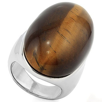 MESMERIZING HEAVY STAINLESS STEEL RING