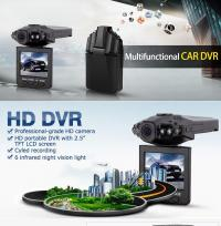 STUNNING ! HD CAR DVR TRAVELING DRIVING DATA RECORDER CAMCORDER VEHICLE CAMERA WITH 120 DEGREE ANGLE