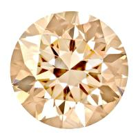 CELEBRITY GRADE ! 3.3 - 3.5 MM CHOCOLATE DIAMOND (SI) INDEED SPARKLING LOOSE
