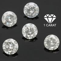 SUPERB ! 1.00 CARAT DIAMOND BRILLIANT LOOSE LOT