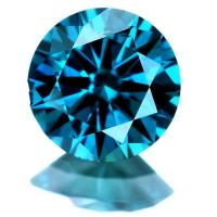 1/4 CARAT LOOSE BLUE DIAMOND BRILLIANT CUT