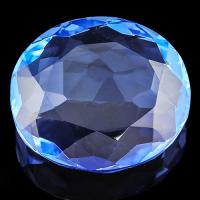 LAB-GROWN GEMSTONE ! 113.40 CARAT SKY BLUE TOPAZ LOOSE GEMSTONE