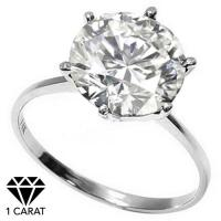1.01 CARAT DIAMOND SOLITAIRE 14KT SOLID GOLD ENGAGEMENT RING