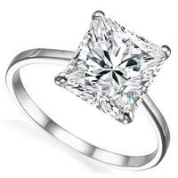 SPECTACULAR ! 1.84 CARAT FLAWLESS CREATED DIAMOND SOLITAIRE 14KT SOLID GOLD ENGAGEMENT RING