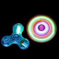 LOVELY ! NOCTILUCENT BLUETOOTH MUSIC FINGERS GYRO FLASH 3 LEAF