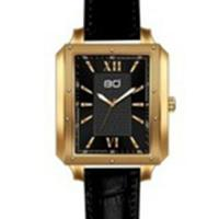 BOCCATI EDITION ! DIAMOND WATCH GOLD-TONE STAINLESS STEEL LEATHER STRAPS