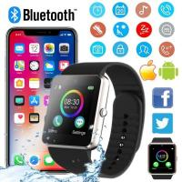 BRILLIANT ! LATEST MOBILE PHONE BLUETOOTH SMART WATCH PEDOMETER FOR IOS ANDROID