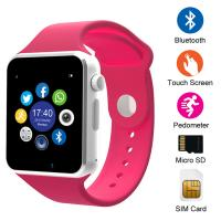 PRETTY ! BLUETOOTH SMART WATCH SPORTS CLOCK WRIST WATCH FOR APPLE IPHONE SAMSUNG ANDROID