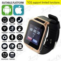 CHARMING ! WATER RESISTANT SMARTWATCH PHONE 1.3M CAMERA BEST SPORT HEALTH WATCH FOR IOS ANDROID
