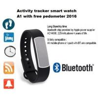 FANTASTIC ! INTELLINGENCE HEALTH TRACKER BLUETOOTH BRACELET FOR IOS ANDROID