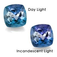 COLOR CHANGE! 10.78 CARAT BLUE FLOURITE TO VIOLET LOOSE GEMSTONE
