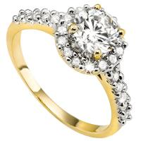 4/5 CT DIAMOND (VS) SOLITAIRE 14KT SOLID GOLD ENGAGEMENT RING