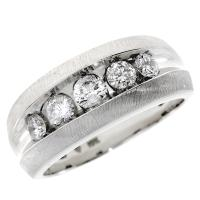 (CLOSEOUT #103) FINE JEWELRY (SI-I1) DIAMOND 10KT SOLID GOLD RING (SIZE )