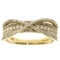 (CLOSEOUT #86) FINE JEWELRY (SI-I1) DIAMOND 10KT SOLID GOLD RING (SIZE 7 US)