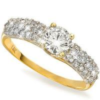 2/3 CT DIAMOND (VS CLARITY) SOLITAIRE 14KT SOLID GOLD ENGAGEMENT RING