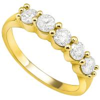 1.00 DIAMOND 14K SOLID GOLD ENGAGEMENT RING