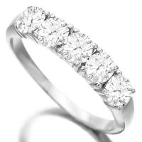 IDEAL ! 4/5 CARAT DIAMOND 14KT SOLID GOLD WEDDING BAND RING