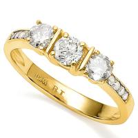 2/3 CT DIAMOND (VS CLARITY) 14KT SOLID GOLD ENGAGEMENT RING