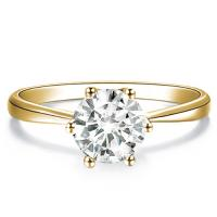 LIMITED ITEM ! 4.7MM DIAMOND SOLITAIRE 14KT SOLID GOLD ENGAGEMENT RING