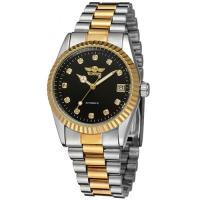 IDEAL ! ROLEX STYLE MECHANICAL AUTOMATIC STAINLESS STEEL MENS WRIST WATCH