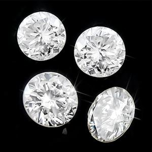 0.58 CT GENUINE DIAMOND BRILLIANT CUT LOOSE LOT