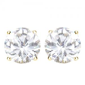 1/2 CT DIAMOND 14KT SOLID GOLD EARRINGS STUD