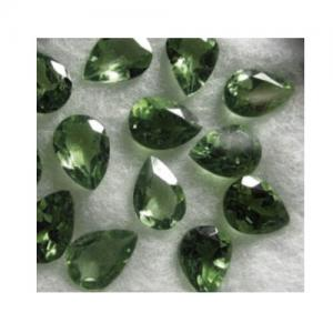 1.00 CT LIGHT GREEN GREEN SAPPHIRE LOOSE GEMSTONE