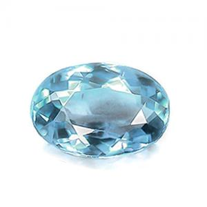 2/3 CT NICE BLUE AQUAMARINE LOOSE GEMSTONE