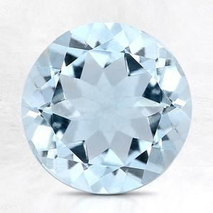 1/2 CT AQUAMARINE CLEAR WATER BLUE LOOSE GEMSTONE