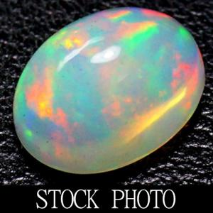 RARE!! TOP GRADE EYE CLEAN 8X10MM OVAL CUT GENUINE ETHIOPIAN OPAL NATURAL LOOSE GEMSTONE