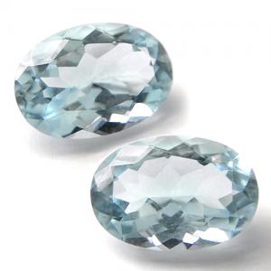 6.00 - 6.50 CT AQUAMARINE CLEAR WATER BLUE LOOSE GEMSTONE LOT