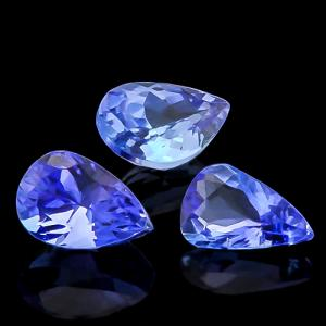 INTENSITY PREMIUM COLOR ! 4/5 CARAT TANZANITE LOOSE GEMSTONE LOT