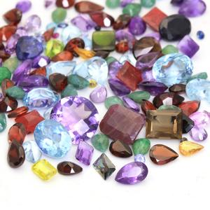 100.00 CT GENUINE GEMSTONES LOT!! VARIETY SIZES & SHAPES