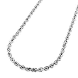 22 INCHES 0.5MM 14KT SOLID GOLD ROPE NECKLACE