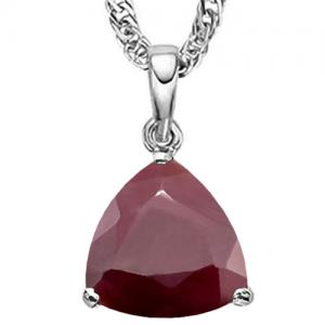 1/4 CT RUBY 10KT SOLID GOLD PENDANT