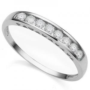 VS CLARITY ! 1/4 CT DIAMOND 10K SOLID GOLD WEDDING RING