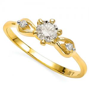 VS CLARITY ! 1/4 CT DIAMOND SOLITAIRE 14KT SOLID GOLD ENGAGEMENT RING