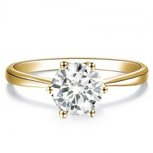 LIMITED ITEM ! 1/2 CT DIAMOND SOLITAIRE 14KT SOLID GOLD ENGAGEMENT RING